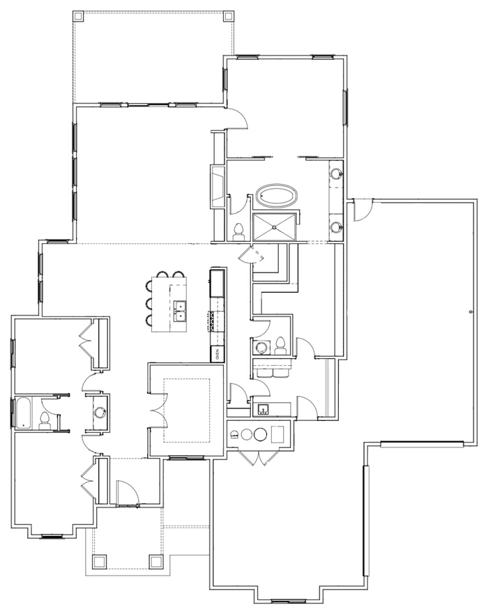 The Yuri B Floor Plan