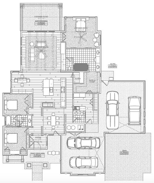 The Yuri A Floor Plan